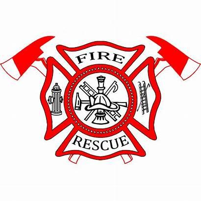 Fire Maltese Cross Firefighter Dept Lake Vector