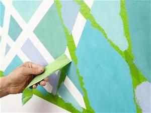 Wandgestaltung Mit Klebeband : abkleben ist keine kunst selber machen heimwerkermagazin ~ Lizthompson.info Haus und Dekorationen