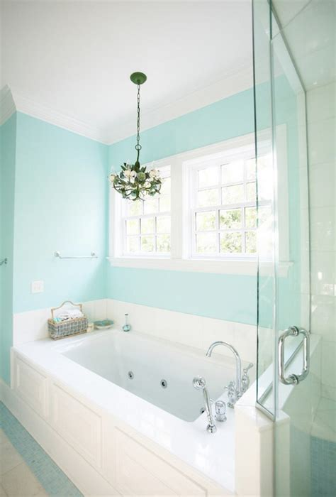 Spa Bathroom Paint Colors by Spa Blue Paint Color Contemporary S Room