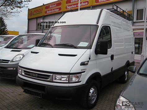 2006 Iveco Daily Van Lang And High