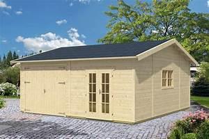 Haus Bausatz Holz : garage skanholz mora 3 einzelgarage 45 mm holzgarage mit gartenhaus holz angebot ~ Whattoseeinmadrid.com Haus und Dekorationen