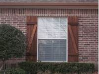 wood exterior shutters Custom Wood Exterior Shutters - dallas - by Texas Best Fence