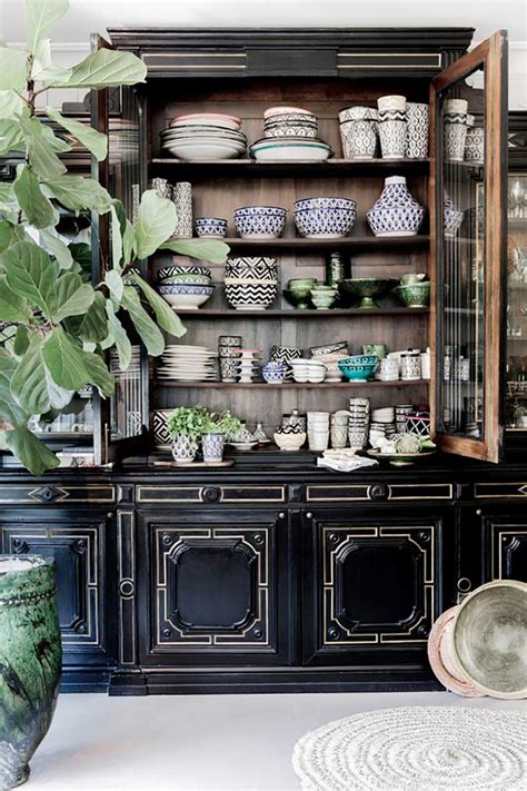 tips  tricks  styling  china cabinet