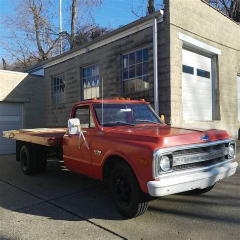 1969 chevrolet c30 dually flat bed 1 ton pickup