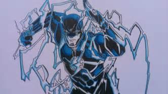 Blue Flash New 52 Drawing