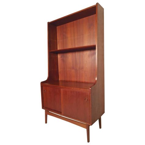 Elegant Midcentury Bookcase From Denmark For Sale At 1stdibs