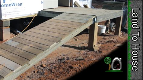 building walkway porch and r build a workshop 20