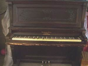 KRAKAUER BROS NEW YORK CABINET GRAND PIANO UPRIGHT | eBay