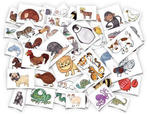 animals flash cards grammatik tema sprakbad