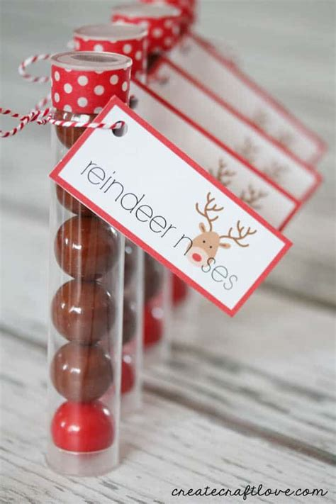 reindeer noses christmas party favors reindeer noses printable