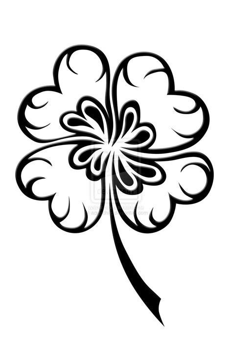 This may be my next tattoo - four leaf clover tattoos