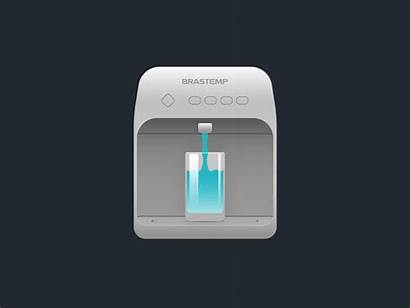 Water Filter Dribbble Working Decided Landing Creating