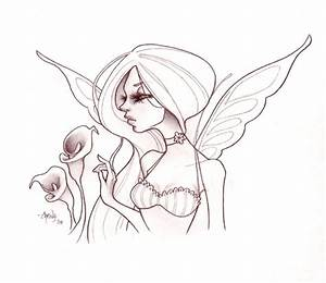 Easy Fairy Drawings In Pencil | www.imgkid.com - The Image ...