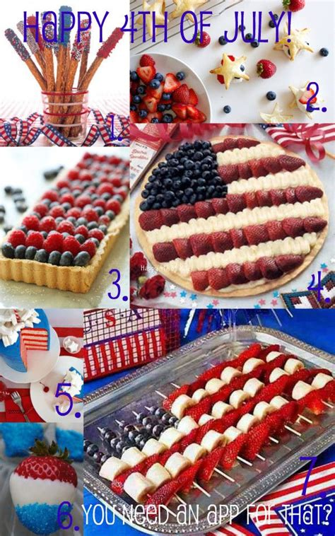 4th of july appetizers americana pin by blake kohn on you need an app for that pinterest