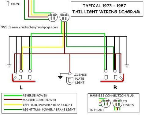 chevy truck wiring diagram typical wiring schematic