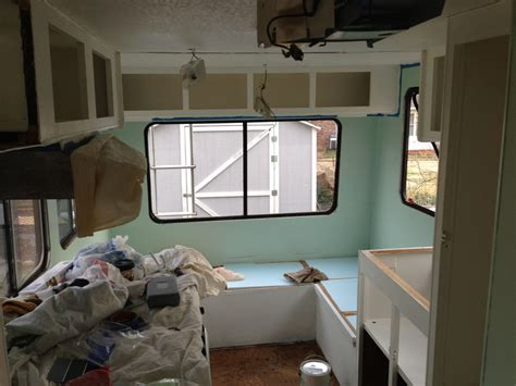 painting the walls cabinets the nomadic powers