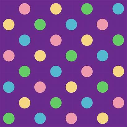 Dots Pattern Clip Clipart Rainbow Polka Dot