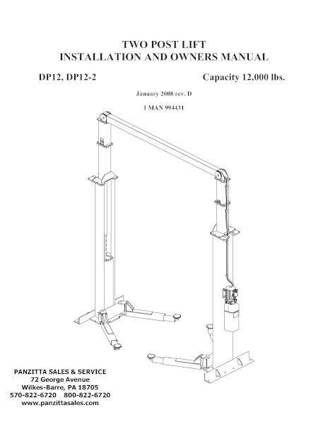 Forward DP12, DP12-2 Parts – Panzitta Sales & Service