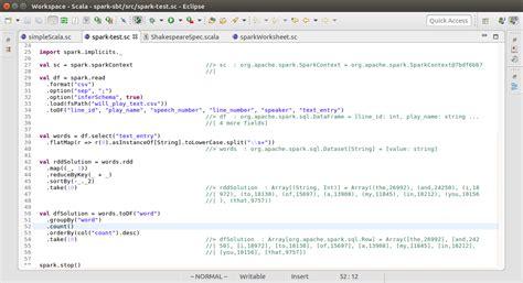 running spark scala worksheet sanori s blog