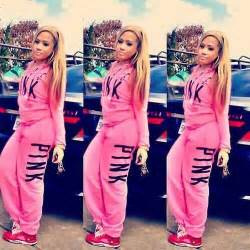 Victoria Secret Pink Sweat Suit Outfit