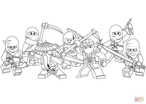 Ninjago Kleurplaten by Lego Ninjago Coloring Page Free Printable Coloring Pages