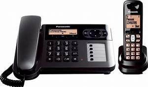 Telefon Auf Rechnung : panasonic kx tgf110 dect kombi telefon set kaufen otto ~ Themetempest.com Abrechnung