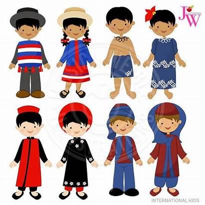 Clipart International Samoa Children Clip Foreign Turkish