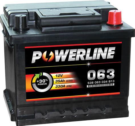 Batterie Car by 063 Powerline Car Battery 12v Car Batteries Powerline