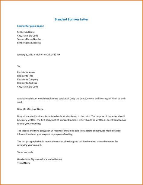 Fresh Standard English Letter Format Marketingwiseco
