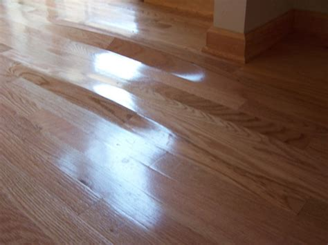 Wood Floor Cupping Water Damage by Inspect A Floor Certified Floor Covering Inspector