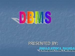 Data Model Of Dbms