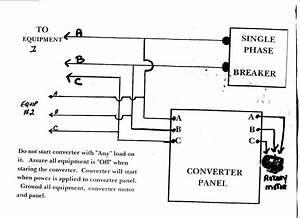 Roto Phase Converter Wiring Diagram Sample