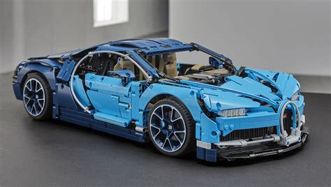 De Lego-versie Van De Bugatti Chiron Is Klaar