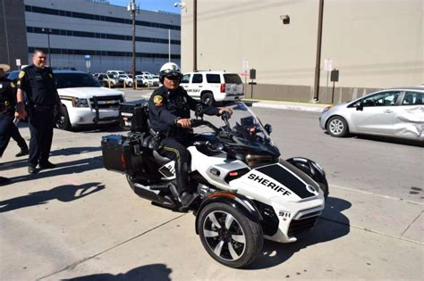 Bexar County Sheriff's Office Testing Out Canam Spyder To