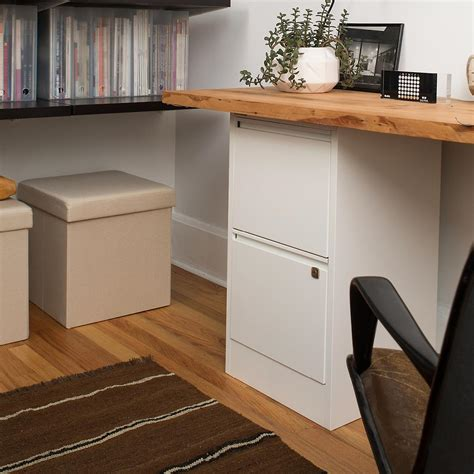 desk with file drawer bisley white 2 3 drawer locking filing cabinets the