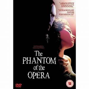 The Phantom Of The Opera DVD Zavvi com
