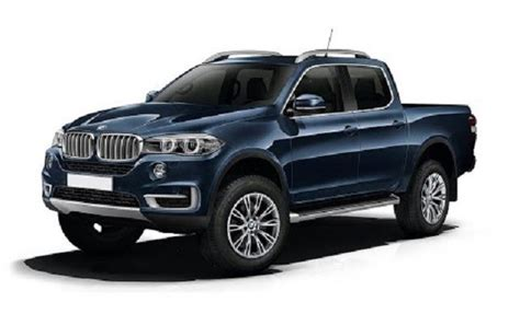 bmw pickup truck  rival mercedes  class