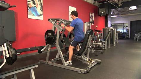hammer strength plate loaded ul leg press instructions youtube