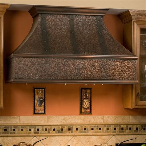 "48"" Tuscan Series Copper Wall Mount Range Hood with"
