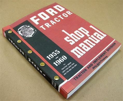 ford     tractor service repair shop manual