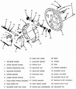 Service Manual  1995 Cadillac Deville Front Brake Rotor