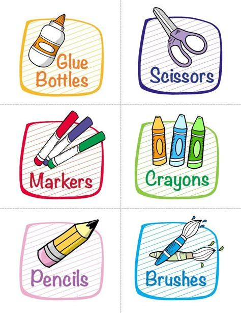 labels for classroom supplies free printables from 491   10787769bc59e468f3ca2c44b115fc68