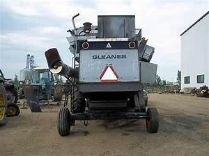Salvaged Gleaner M2 Combine For Used Parts