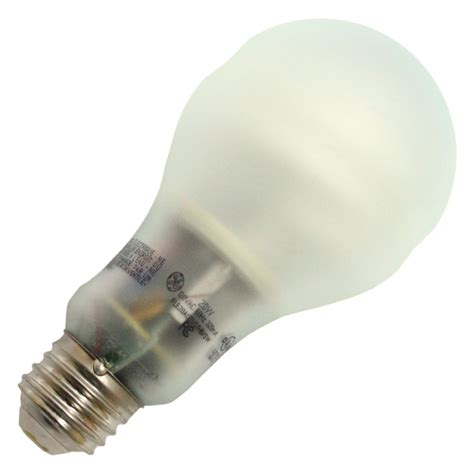 ge fluorescent light bulbs ge 67457 fle20ag21 2 swcd pear a line base compact