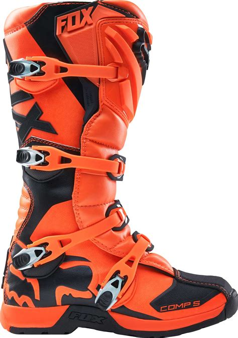 fox youth motocross boots 2017 fox racing youth comp 5 boots mx atv motocross off