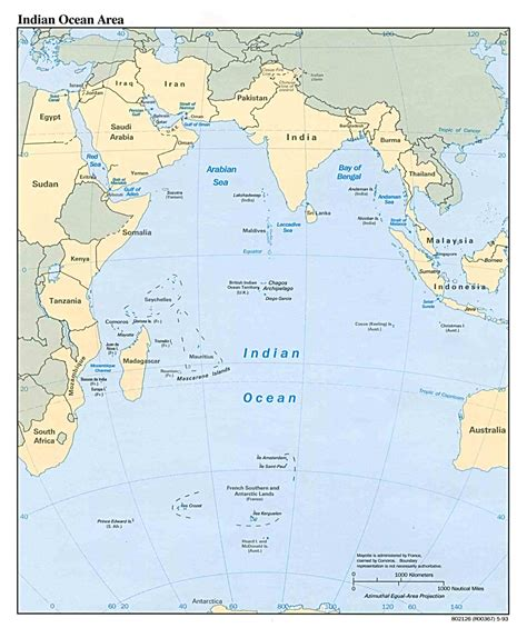 indian ocean maps perry castaneda map collection ut