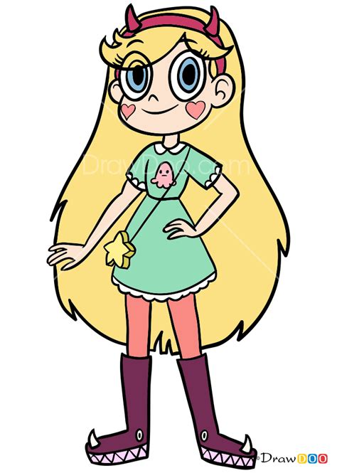 draw star butterfly star   forces  evil