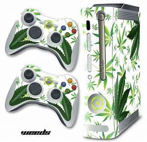 Microsoft Xbox 360 Original Custom MOD Skin Decal Cover