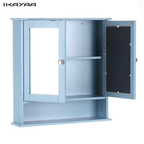 ikayaa modern  door wall cabinet  glass doors