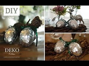 Deko Kitchen : weihnachtsdeko basteln silberne deko zapfen tutorial deko kitchen youtube ~ A.2002-acura-tl-radio.info Haus und Dekorationen